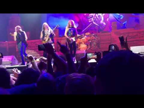 Iron Maiden The Trooper live at the Talking Stick Resort Arena Phoenix Az 2017