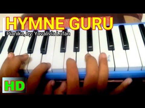 Lagu Hymne Guru | PIANIKA | Notasi/Not & Lirik