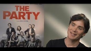 Cillian Murphy on playing a City banker in new film 'The Party'