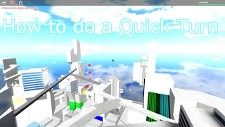 Roblox: how to do a quick turn - Runners' Path [Early Access] -