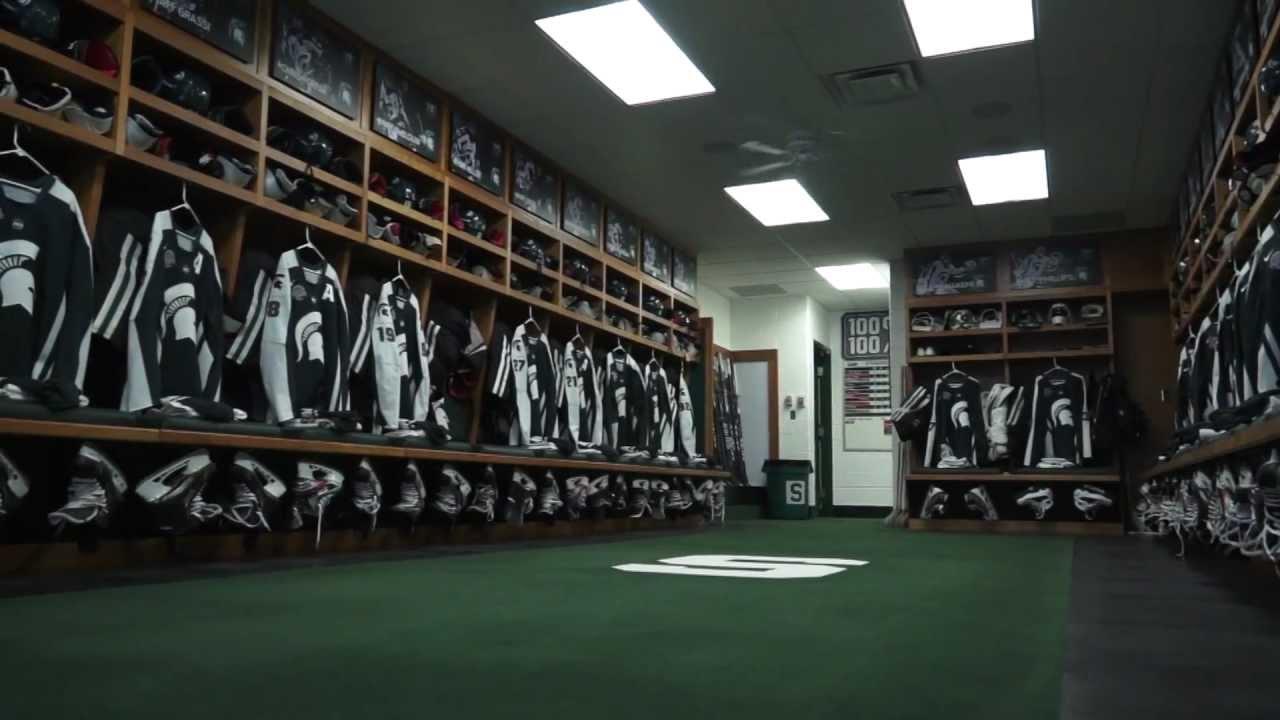 Michigan State Football Locker Room Tour