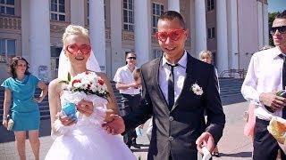 Денис и Лена. Веселая свадьба в Гродно)