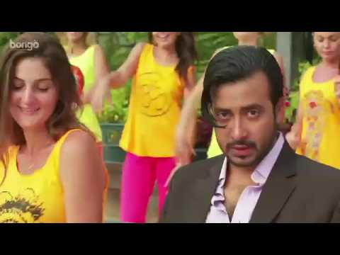 Raja Babu  Title Song   Full Bangla Movie Song   Shakib Khan   Apu Biswas   Bobby Haque