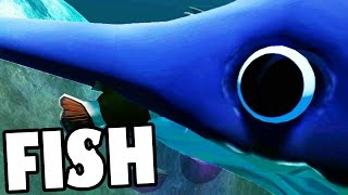 STABBING EVERYTHING AS A SWORD FISH - Fish Feed And Grow (Update Gameplay)
