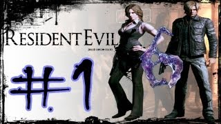 Resident Evil 6 - Detonado Leon (Walkthrough) Parte 1 [ PT BR ]