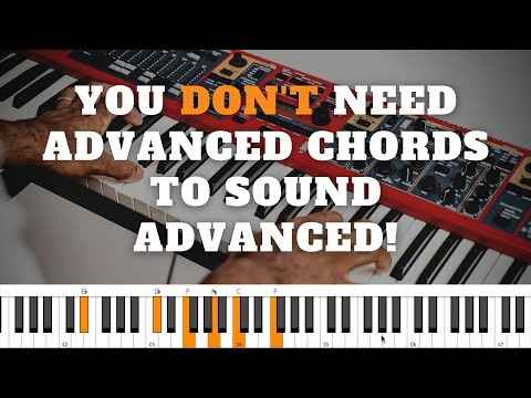 Simple Chords Played in NOT SO SIMPLE Ways