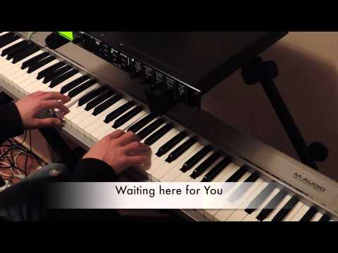 Waiting here for You - Jesus Culture ft Martin Smith (Piano & Lyrics)