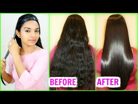 Straighten Hair Naturally At Home - Magical Hair Mask - INSTANT RESULTS - PrettyPriyaTV