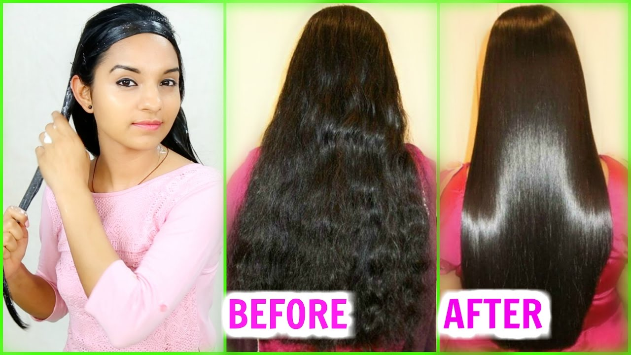 5 Best Home Remes To Get Straight Hair Naturally Without Any Chemicals