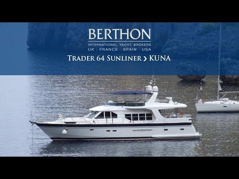 Trader 64 Sunliner (KUNA) - Yacht For Sale - Berthon International Yacht Brokers