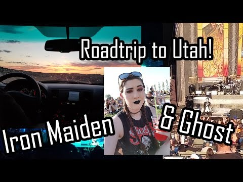 Roadtrip to Utah: Let's See Ghost & Iron Maiden!