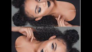 GRWM: Black Lips + Space Buns