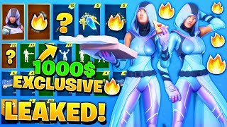 "*NEW* Leaked Exclusive 1000$ ""Davinci"" Skin in Fortnite..!! (Samsung Galaxy Note 10 Fortnite Skin)"