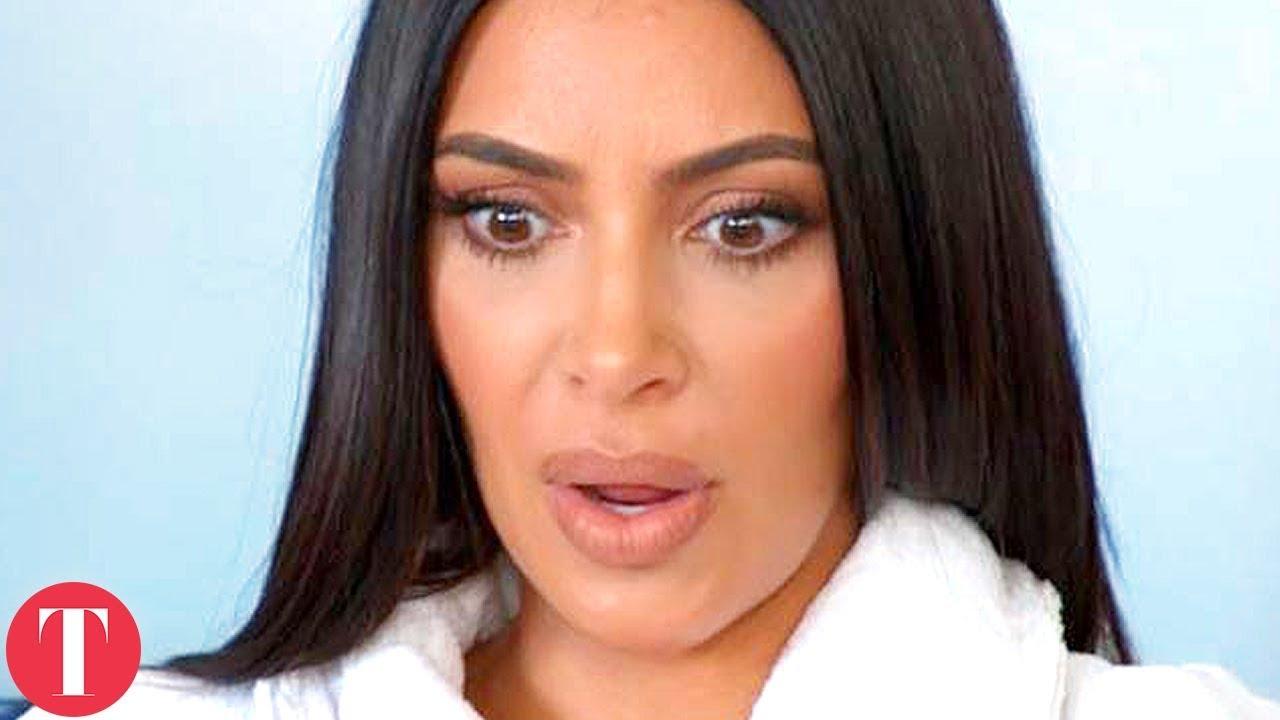 Нешто чудно се случува - како се менува лицето на Ким Кардашијан во текот на нејзиното шоу?