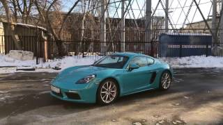 Тест драйв Porsche 718 Cayman S // АвтоВести Online