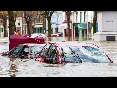 Terrible Flooding in Kentucky, USA (Mar 01, 2021) Desester Flash Flood in This Time