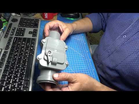 Запорный клапан для канализации