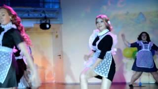 """Выпускной 2015 Танец """"школьницы"""" Подарок родителям"""