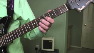 Pink Panther Guitar Lesson (part 1)