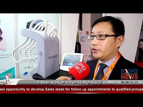 LOTUXS China | Wuhan Lotuxs Technology | Laser Hair Removal Devices | Dubai Derma 2018 DWTC