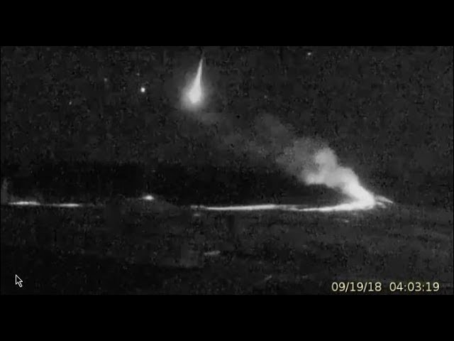 2 Meteors, 1 Huge & Flying Objects at Yellowstone