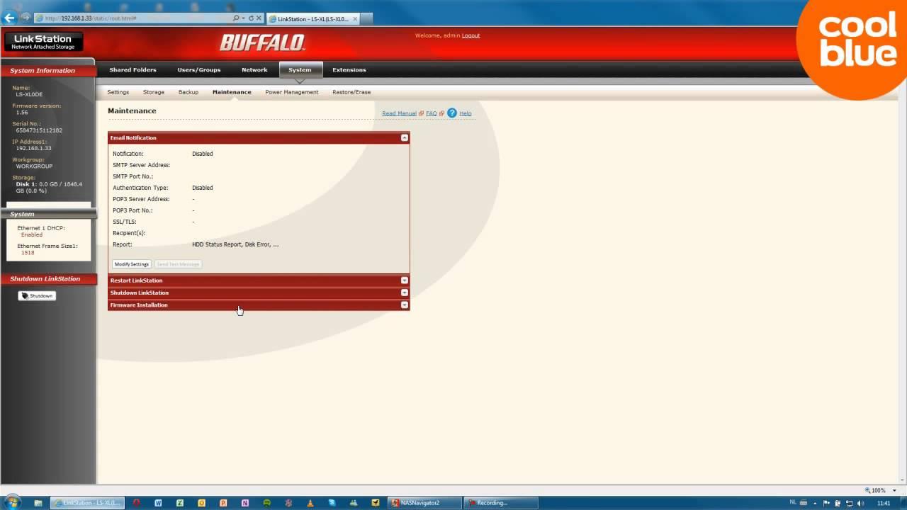 Buffalo LinkStation Live review en unboxing (NL/BE)