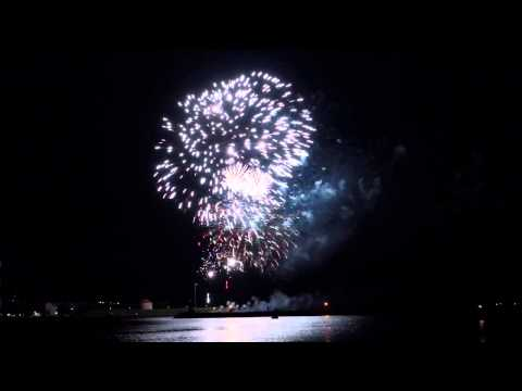 Canada Day Fireworks in Kingston Ontario 2015