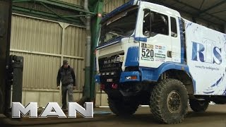 MAN trucks - Shipping to Rally Dakar 2017