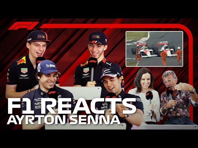 F1 Reacts: Ayrton Senna's Greatest Moments