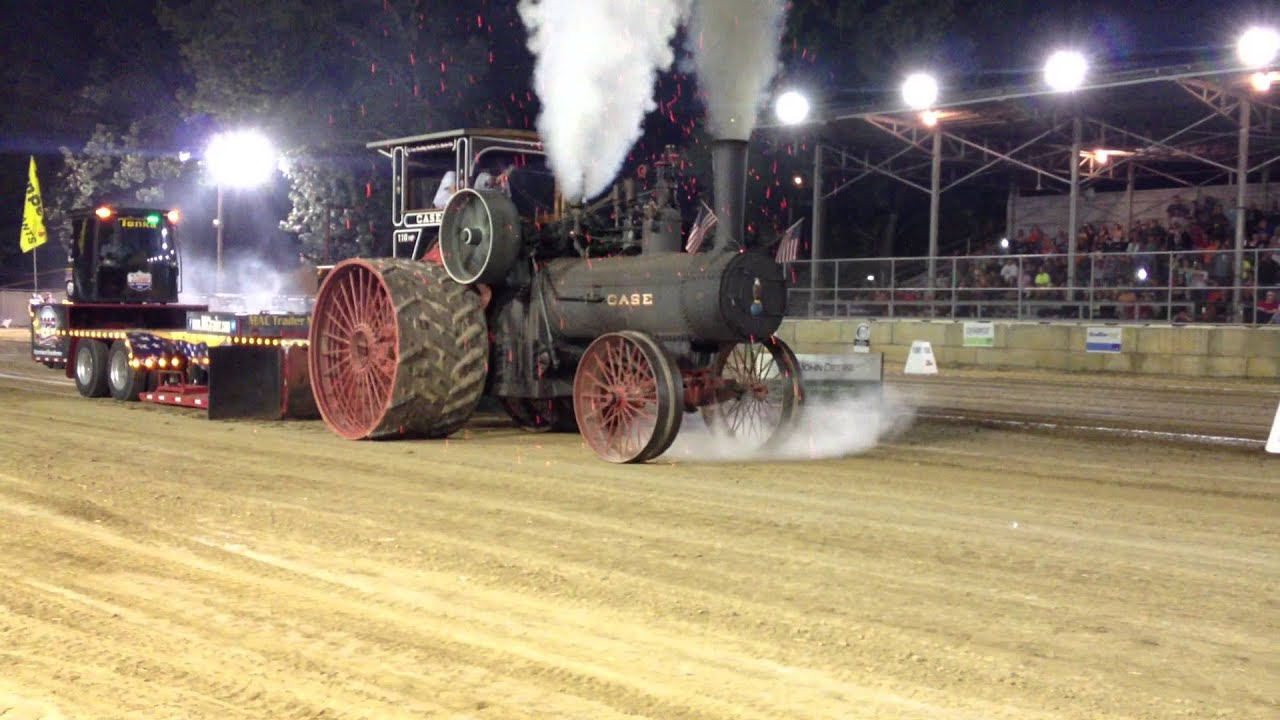 110HP Case Steam Tractor Pull Pinckneyville Illinois August 15
