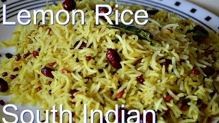 Lemon Rice Quick And Easy Recipe Video By Chawlas-kitchen.com Episode # 208