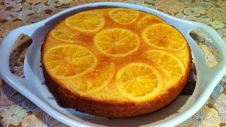 Пирог Перевертыш с Апельсинами/Пирог с Апельсинами/Pie With Oranges/Очень Простой Пирог