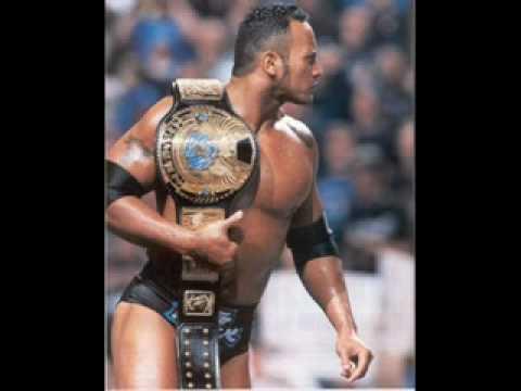 WWE-The Rock Theme - 1998 1999