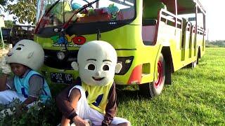 Ada Upin Ipin & Bus Tayo Ngabuburit - The Little Bus Tayo - Tembang Allahul Kahfi Versi OM. Kanjeng