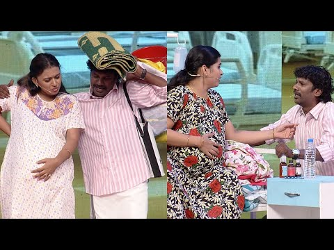 Thakarppan Comedy l Ex-girlfriend and wife in a labour room..! l Mazhavil Manorama