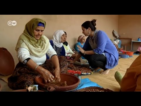 Morocco: Women get together to sell Argan oil | Global 3000