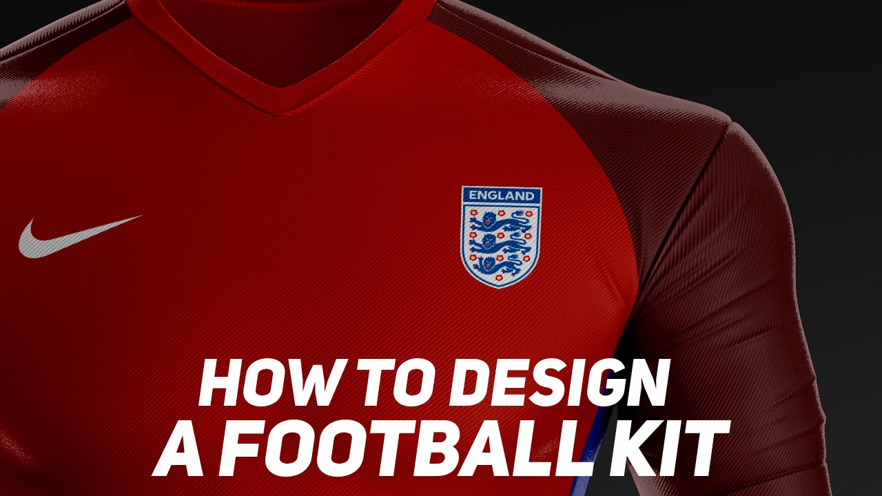 How To Design A Football Kit  BazDZN  YouTube