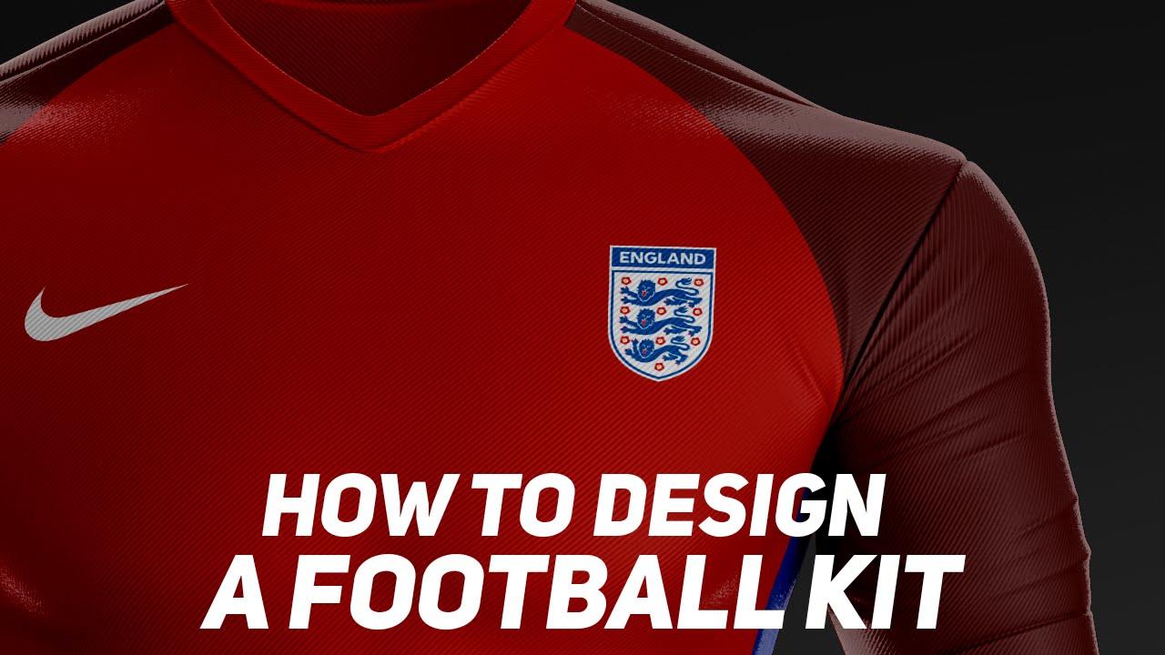 How To Design A Football Kit  BazDZN  YouTube