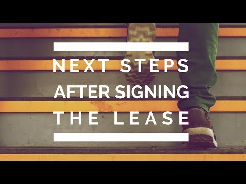 Important Next Steps After Signing Your Marin Leasing Agreement