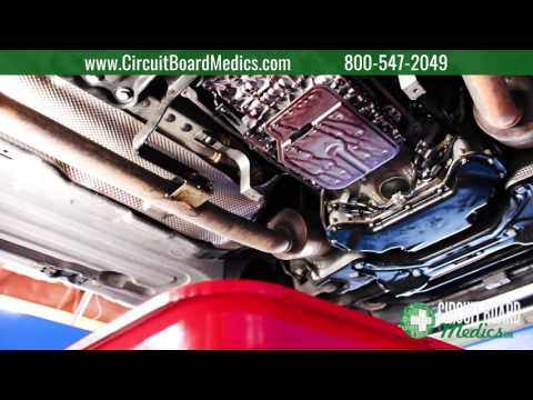 How to change the transmission fluid in a Mercedes-Benz 722 9 7G