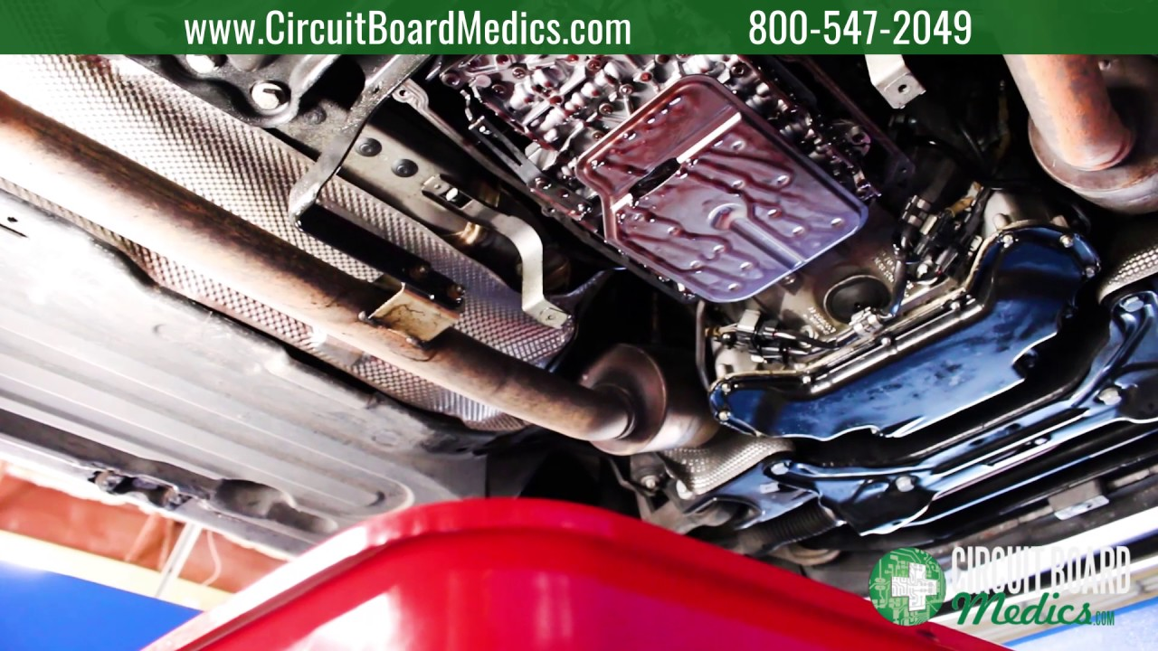 How to change the transmission fluid in a Mercedes-Benz 722 9 7G-Tronic  transmission