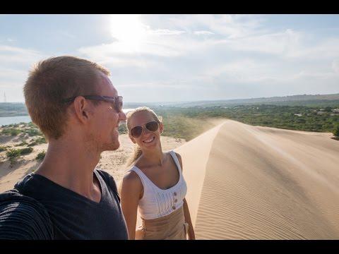 Probleme mit der Polizei - White Sand Dunes Vietnam - Weltreise | VLOG #228