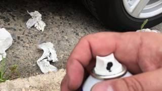 2016 Camaro V6 Plastidipping Badges and Wheels Step 2 (badges)