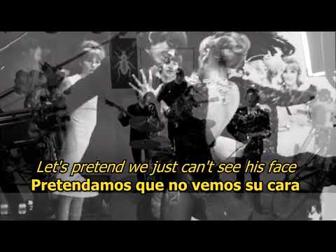 I'm happy just to dance with you - The Beatles (LYRICS/LETRA) [Original]