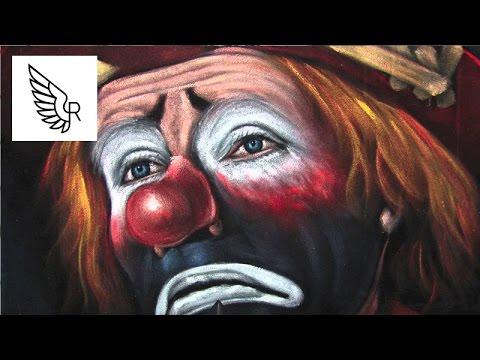 trauriger clown bilder