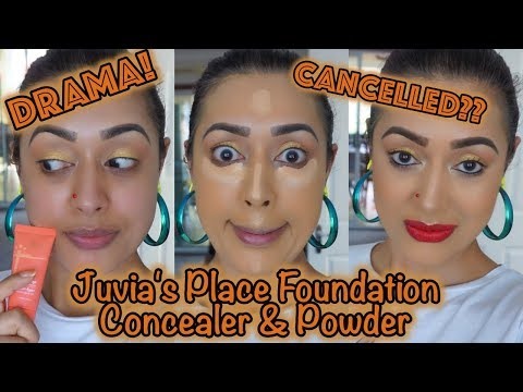 REVIEW & DEMO: Juvia's Place I Am Magic Foundation, Concealer & Setting Powder thumbnail