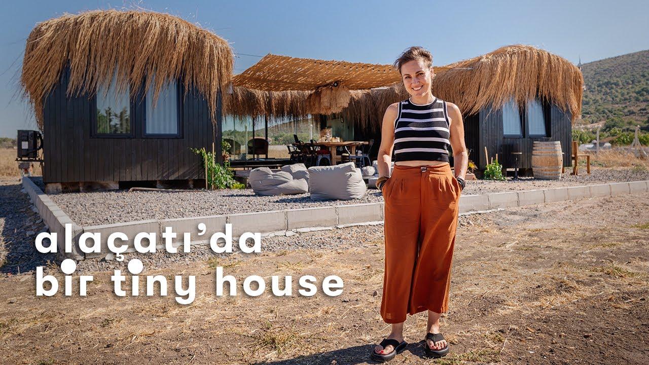 Download Alaçatı'da U Şeklinde Sıra Dışı Bir Tiny House