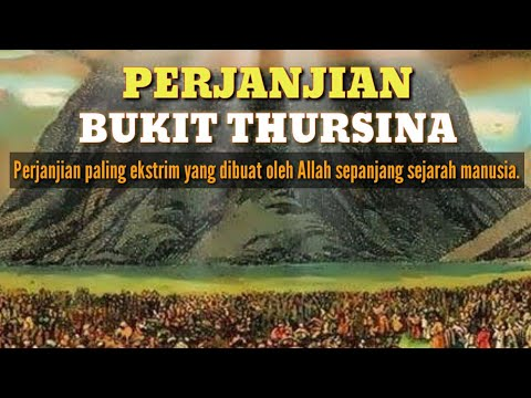 Mengerikan. Perjanjian Yang Allah buat dengan Bani Israil di Bukit Tursina.