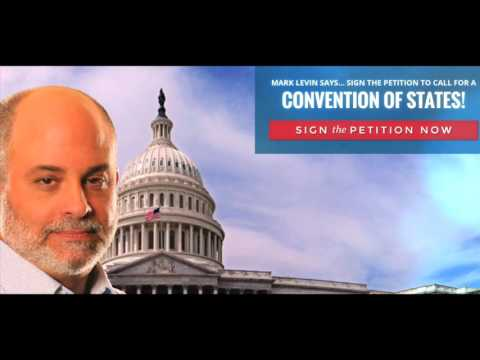 Mark Levin Interviews Greg Abbott on Push for Convention of States