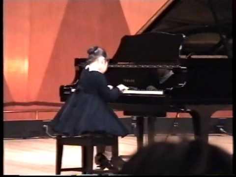 Rachel Cheung - 1999 Hong Kong School Music Festival.